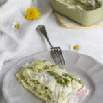 Lasagne agli asparagi e robiola, in tre diverse varianti