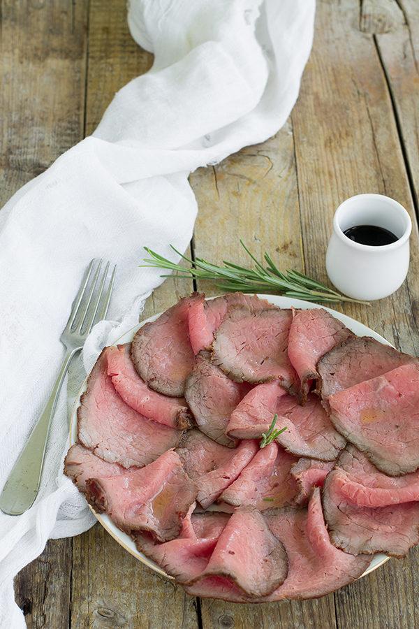La ricetta del Roastbeef al forno e in padella