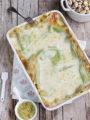Lasagne al salmone e pistacchi