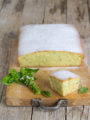 Torta dolce di zucchine e basilico