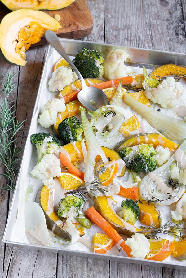verdure invernali al forno